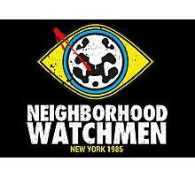 Neighborhood Watchmen Photographic Print