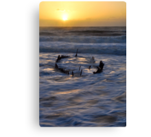 SS Dicky at sunrise Canvas Print
