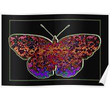 Batik Butterfly II Poster