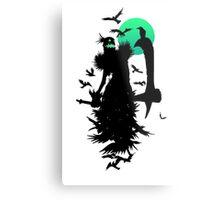 Fiddlesticks Crows Metal Print