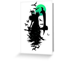 Fiddlesticks Crows Greeting Card