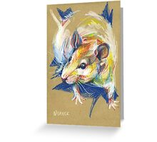 Praline the rat III Greeting Card