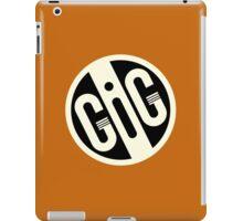 Gig B&W  iPad Case/Skin