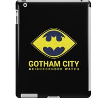 Gotham City Neighborhood Watch iPad Case/Skin