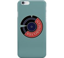 Recordman iPhone Case/Skin