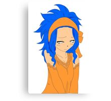 Levy (Bold and Colored) Canvas Print