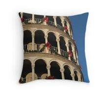 Leaning Tower of USA 2 Throw Pillow