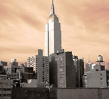 Empire State Building by Judith Oppenheimer
