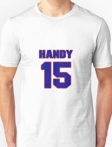 National Hockey player Ron Handy jersey 15 T-Shirt