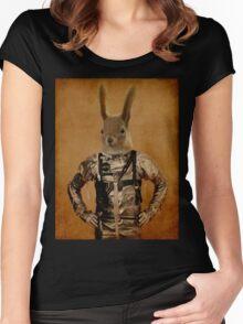 Hazel Women's Fitted Scoop T-Shirt