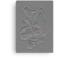 GRAY SCALE Canvas Print