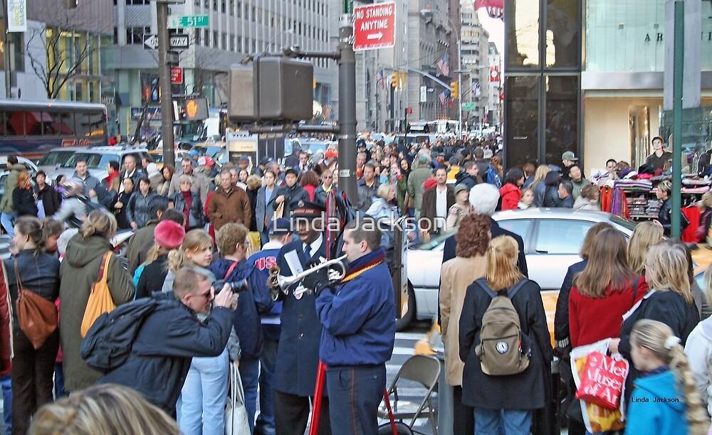 New York City street scene by Linda Jackson