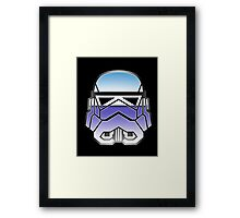 Trooper in disguise Framed Print