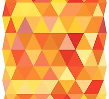 Red Orange Yellow Color Pattern Combination by twister025