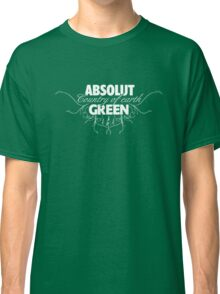 """ABSOLUT GREEN """"Country of earth"""" Classic T-Shirt"""