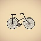 old bicycle by Alexzel
