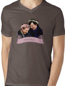 Johnlock Mens V-Neck T-Shirt
