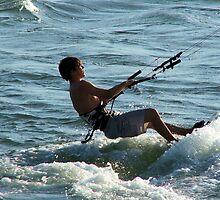 kite surfing by Peter Jennings