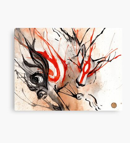 Amaterasu Okami Canvas Print