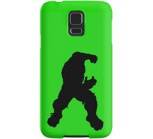 Hulk silhouette Samsung Galaxy Case/Skin