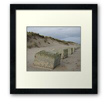 A boring photo( A little piece of history) Framed Print
