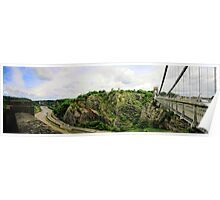 Clifton Suspension Bridge - Bristol Poster