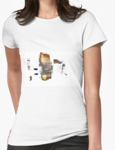 Thoughts Womens Fitted T-Shirt