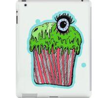 Gruesome cupcake iPad Case/Skin