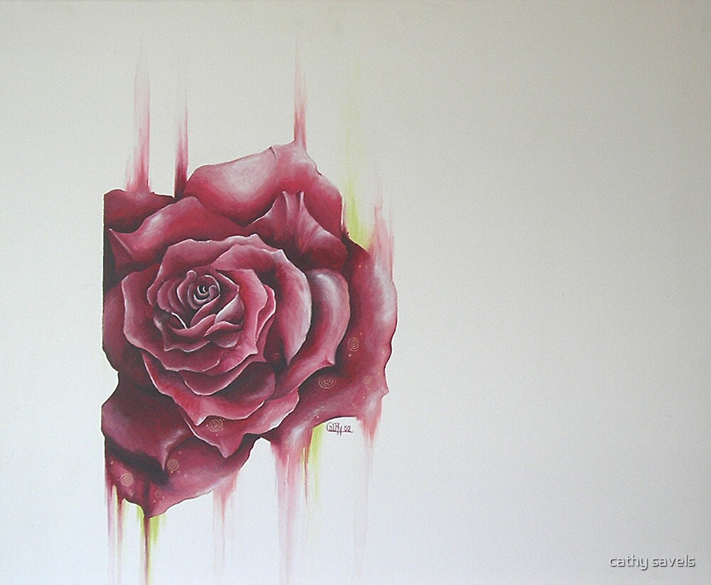 rose by cathy savels
