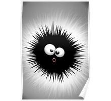 Funny Ink Splat Cartoon  Poster