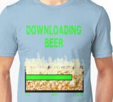 DOWNLOADING BEER Unisex T-Shirt