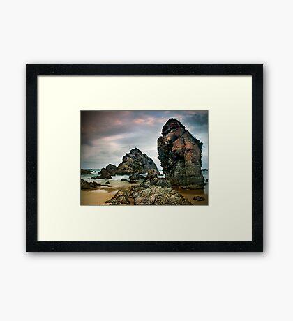 Sea Giants Framed Print