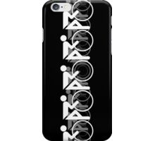The Bicycle Race 2 White iPhone Case/Skin