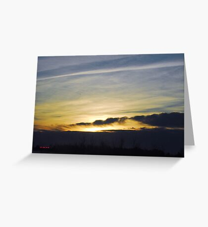 Prescott County Winter Sunrise Greeting Card