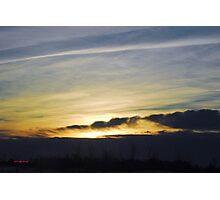 Prescott County Winter Sunrise Photographic Print