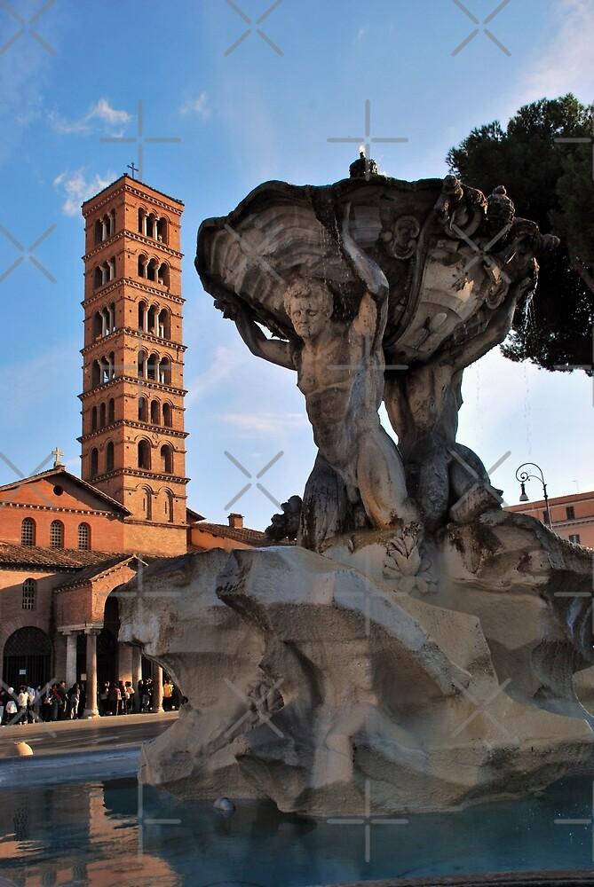 Fontana dei Tritoni by Alessandro Pinto