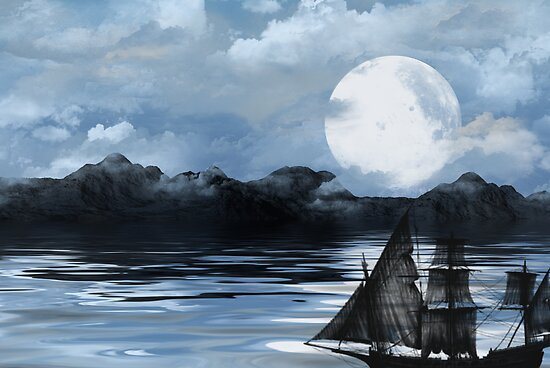 The Black Pearl by Maria Dryfhout