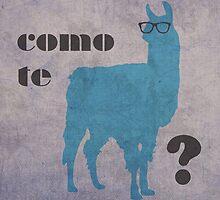 Como Te Llamas Humor Pun Poster Art by scienceispun