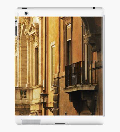Orange Walls of Rome iPad Case/Skin