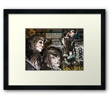 Come and get the emotional meal Framed Print