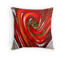 Red Tomatoes Throw Pillow