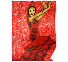 Famenco Dancer Poster