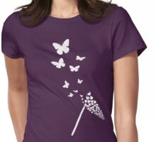 Flyaway *white version Womens Fitted T-Shirt