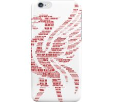 You'll Never Walk Alone Liver Bird iPhone Case/Skin