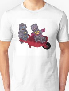 joy riding robots Unisex T-Shirt