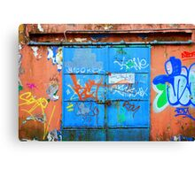 Alley Graffiti Canvas Print