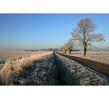 Birthorpe Road Frost Photographic Print