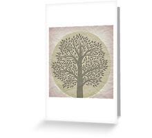 I climbed the tree to see the world Greeting Card