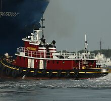 Tough Little Tug Boat by KBSImages