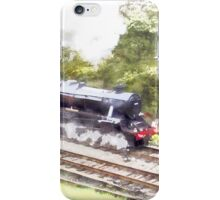 Scarborough Spa Express in Watercolour iPhone Case/Skin